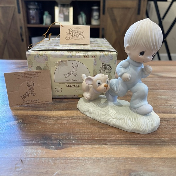 """God's Speed""- Precious Moments Figurine"
